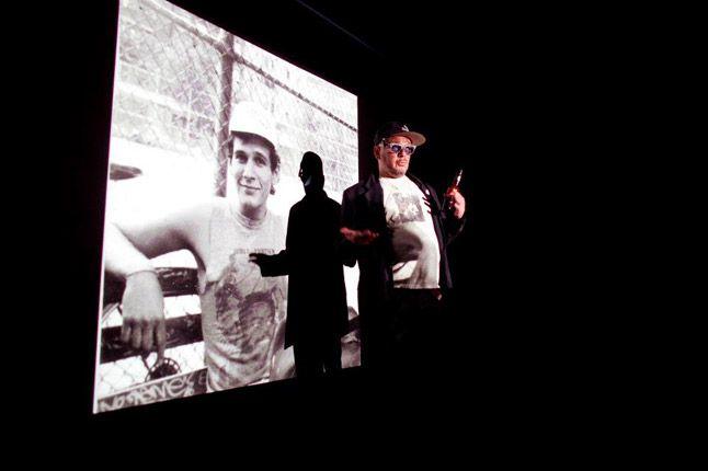 Ricky Powell Foot Patrol London Pony Launch Slide Show 1