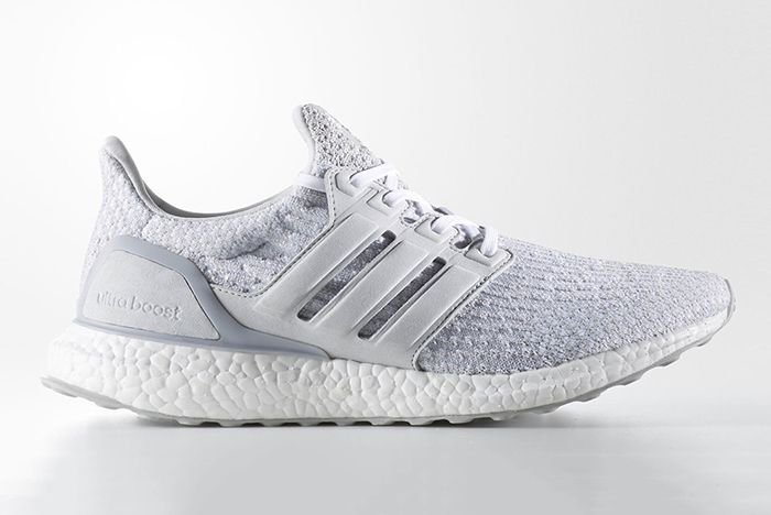 Reigning Champ X Adidas Ultra Boost Triple White