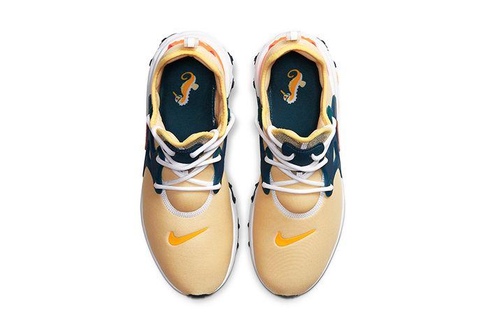 Nike React Presto Seahorse Av2605 201 Release Date Top Down