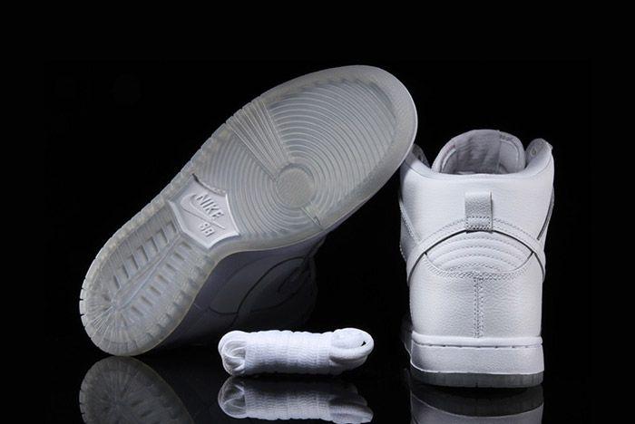 Nike Sb Dunk High Pro White 4