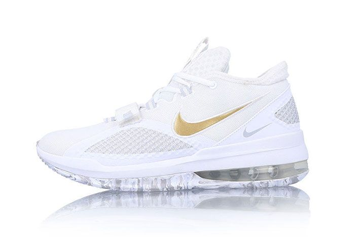 Nike Air Force Max Low White Gold Bv0651 100 Release Date