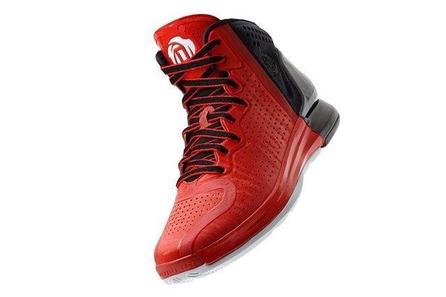 Adidas D Rose 4 Red Black
