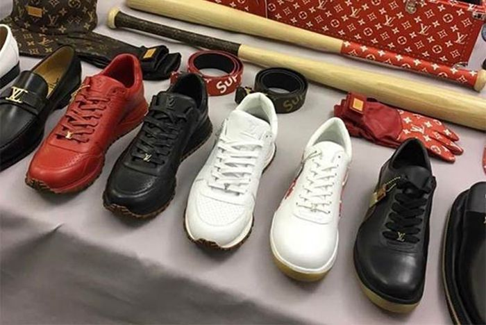 A Supreme X Louis Vuitton Footwear Colab Is Coming