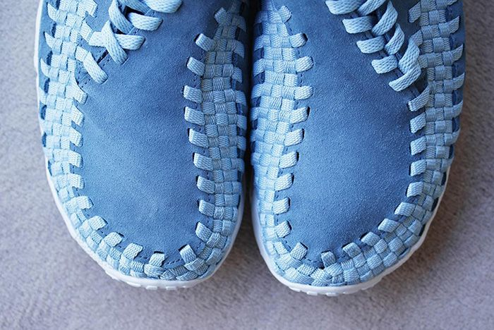 Nike Air Footscape Woven Smoky Blue 9