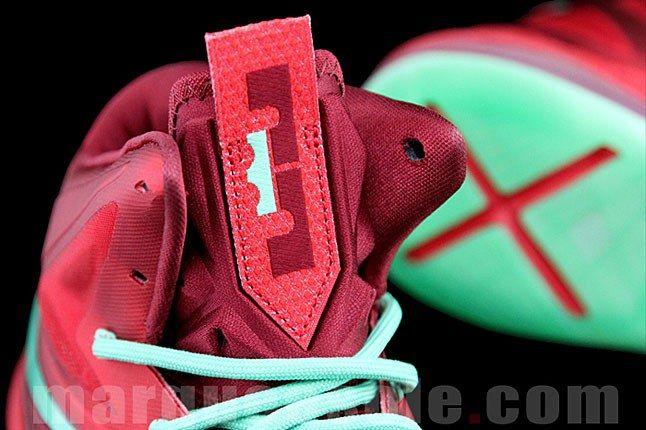 Nike Lebron X Xmas Tree 2