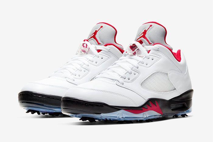Air Jordan 5 Low Golf Fire Red Cu4523 100 Release Date Price 4 Official