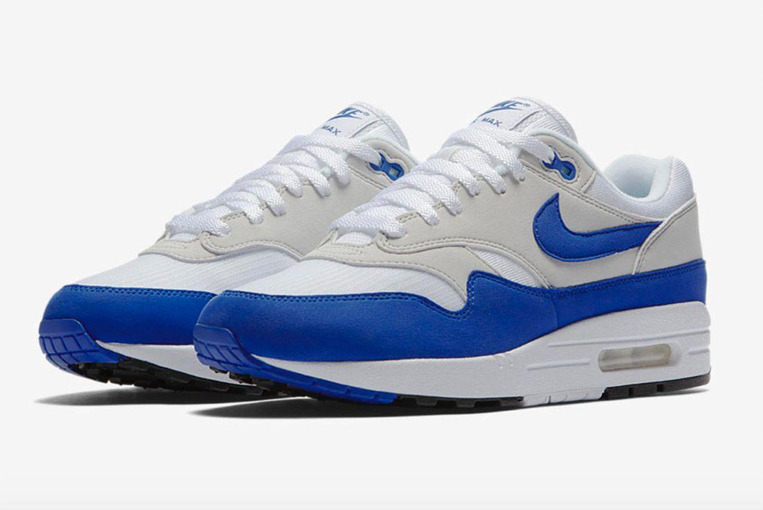 Nike Air Max 1 Og Retro Game Royal Blue 5