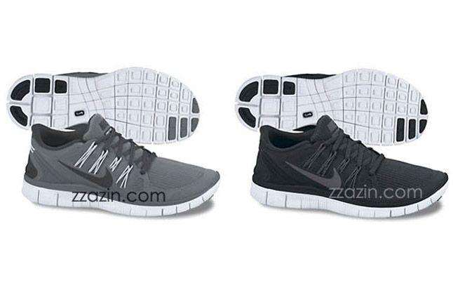 Nike Free Run 4 Grey Black 1
