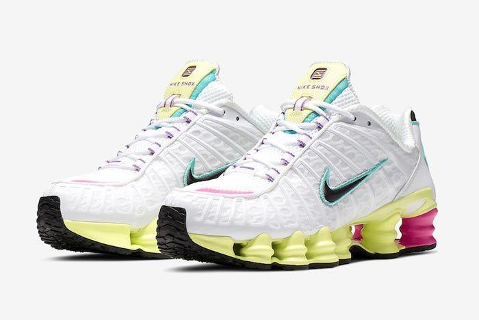 Nike Shox Tl Pastel Pair