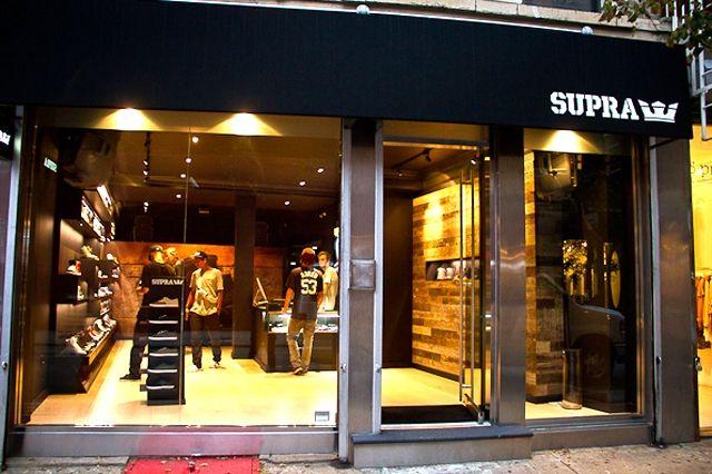 Supra Store Nyc