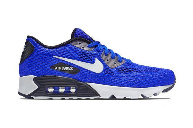 Nike Air Max 90 Ultra Br Plus Qs Racer Bluedark Grey
