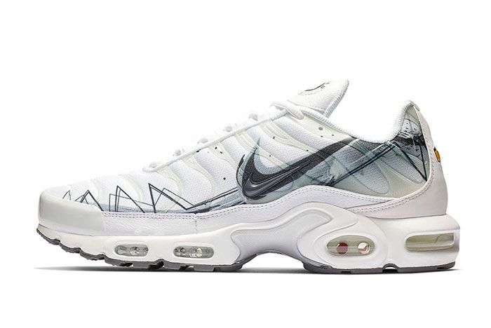 Nike Air Max Plus Le Requin New White Left