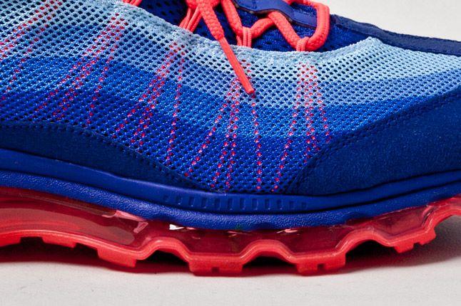 Nike Air Max 95 Wyn Blue Orange Detail 1