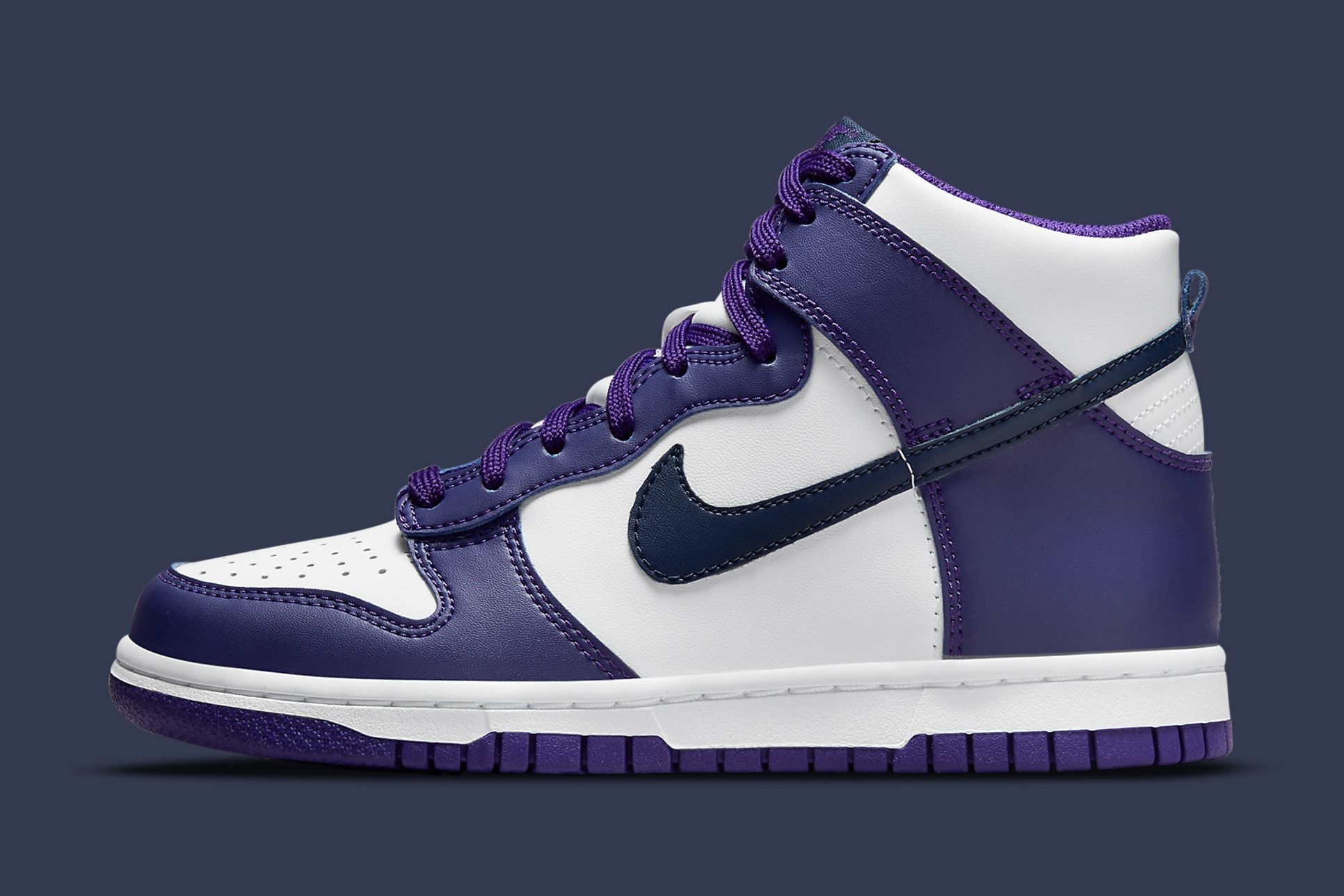 Nike Dunk High Court Purple/Navy