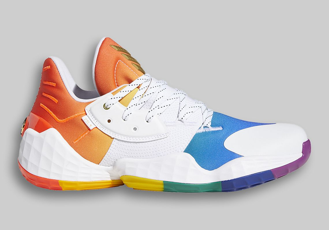 adidas Harden Vol.4 Pride Pack Right