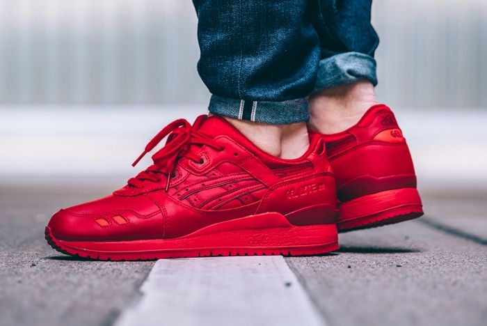 Asics Gel Lyte Iii Monchrome Pack Feature