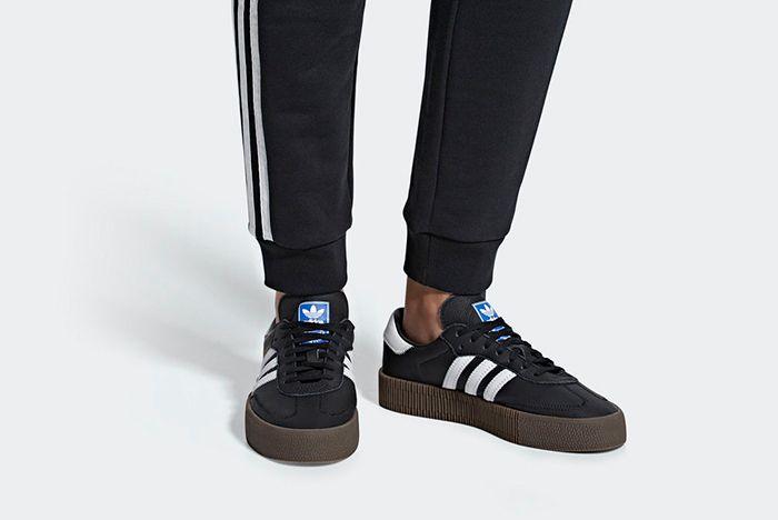 Adidas Sambarose Black 2