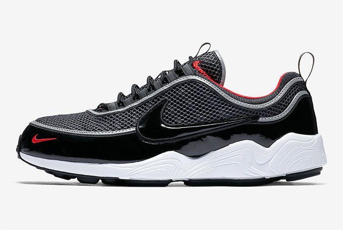 Nike Zoom Spiridon Black Patent 1