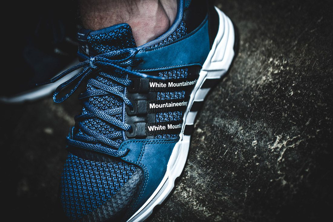 White Mountaineering Adidas Eqt 93 Support 1