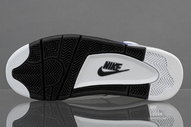 Nike Air Flight 89 White Hyper Blue Sole 1