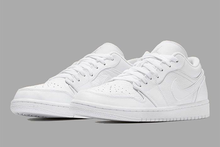 Air Jordan 1 Low White 553558 111 3