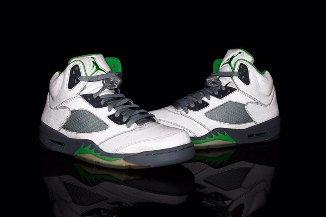 Air Jordan 5 Green Bean