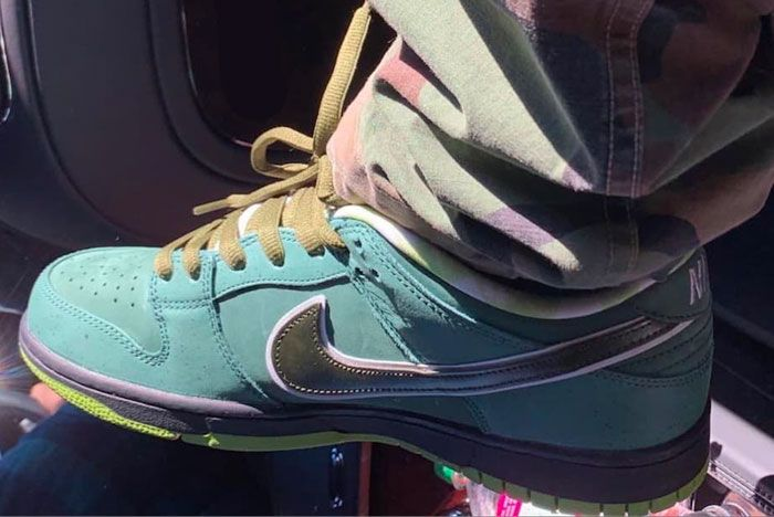 Travis Scott Nike Sb Green Lobster