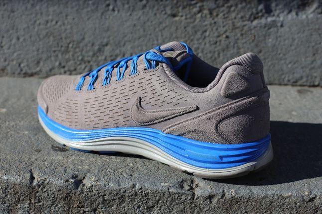 Nike Lunarglide 4 Ext Blue Quater Heel 1