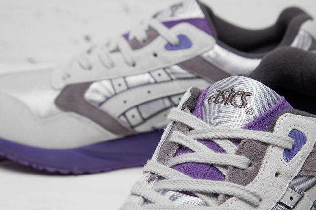 Asics Gel Saga Grey Purple 1