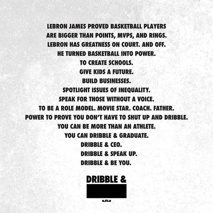 Lebron James Nike China Dribble Campaign 2