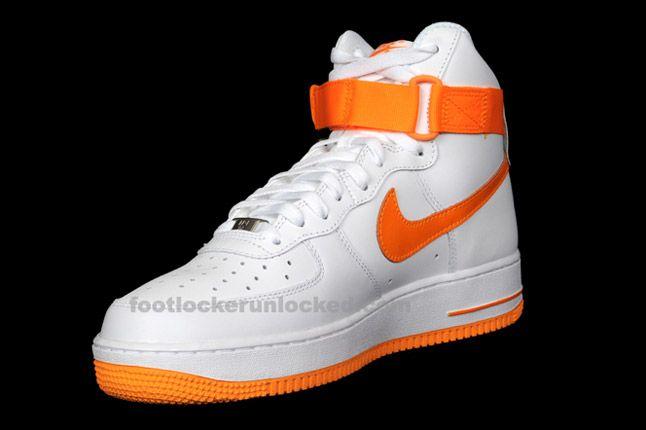 Nike Air Force 1 Hi Vivid Orange 03 1
