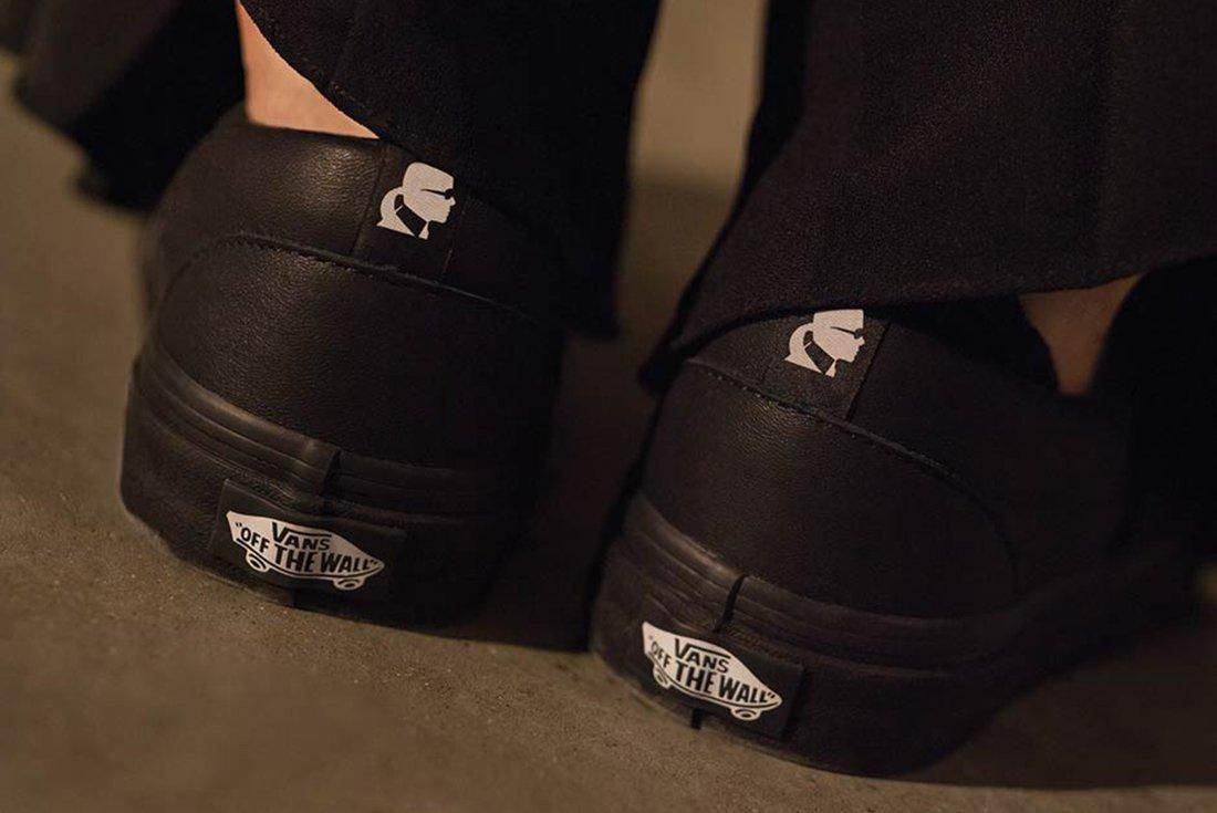 Karl Lagerfield X Vans Collection 8