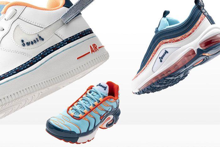 Nike Evolution Of Swoosh Chain Pack Long