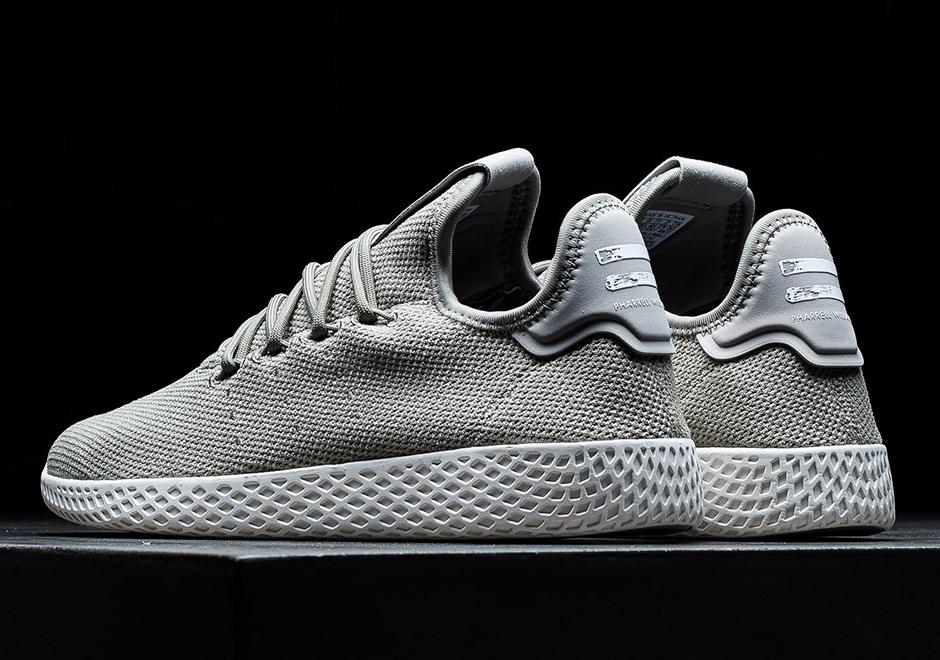 Pharrell Adidas Tennis Hu Grey Cq2163 2
