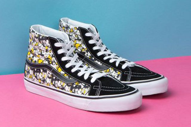 Mickey Mouse X Opening Ceremony X Vans Steamboat Willie Sk8 Hi Perspective