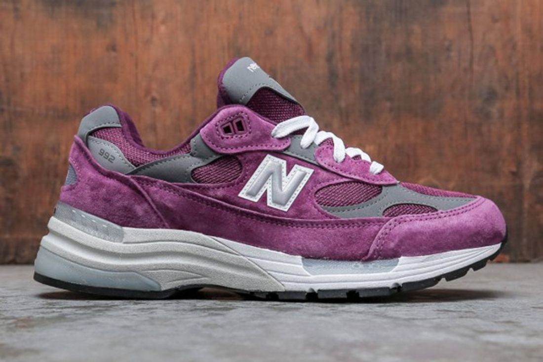 New Balance 992 Purple Suede
