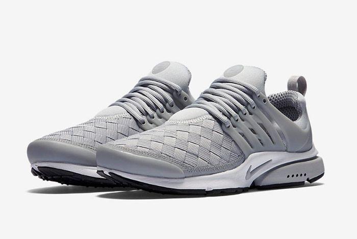 Nike Air Presto Woven Grey 1