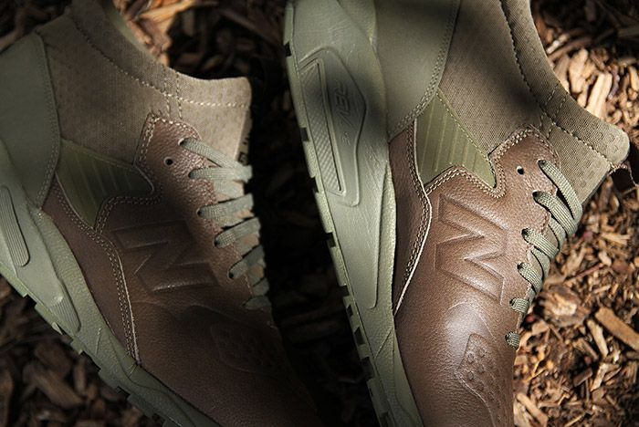 New Balance 580 Outdoor Boot Olive Green 2