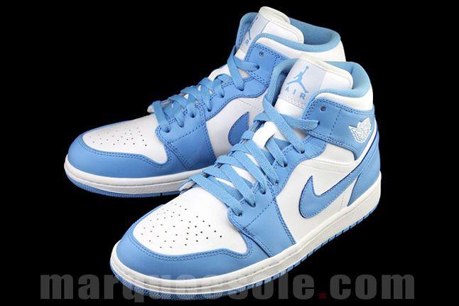 Air Jordan 1 University Blue Quater Pair 1