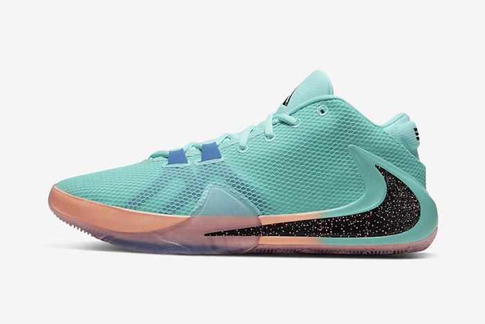 Nike Zoom Freak 1 All Bros Turquoise Lateral