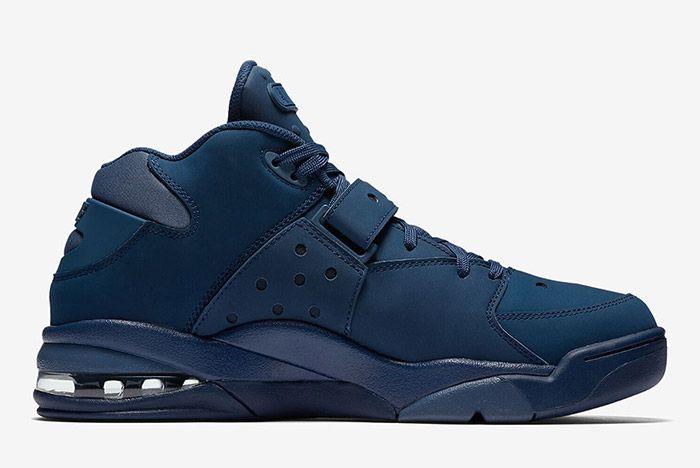 Nike Air Force Max Navy 4 Sneaker Freaker