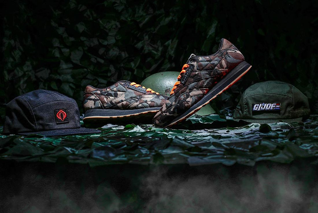 Shoe Palace X Reebok Gi Joe Classic 9
