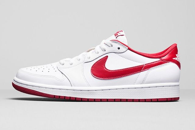 Air Jordan 1 Low Og Varsity Red 5