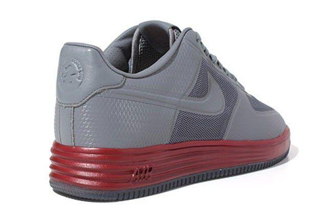 Nike Lunar Force 1 Red Grey 1