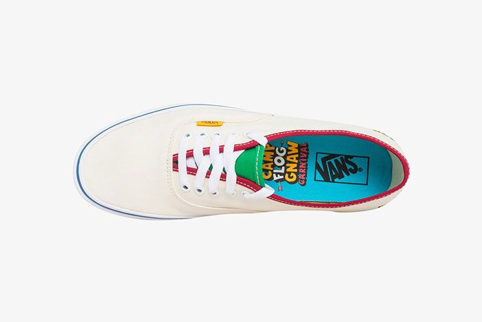 Golf Wang X Vans Authentic Flog Gnaw 2