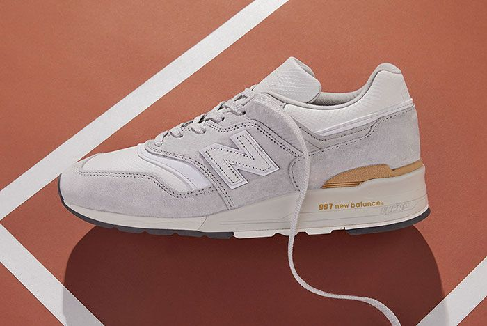 Todd Snyder x New Balance 997 'Chalk Stripe' Lateral