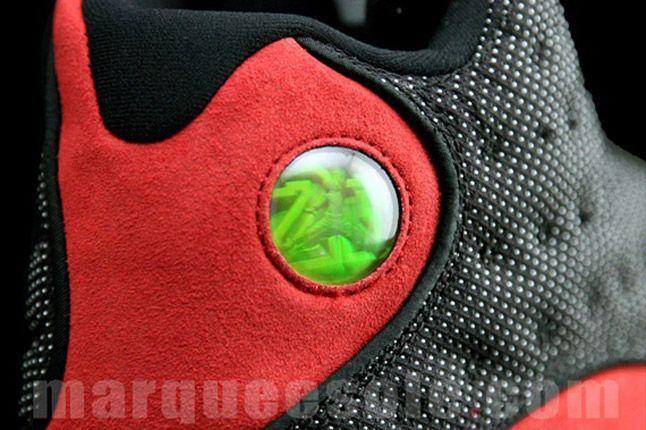 Air Jordan 13 Bred Hologram Heel 1