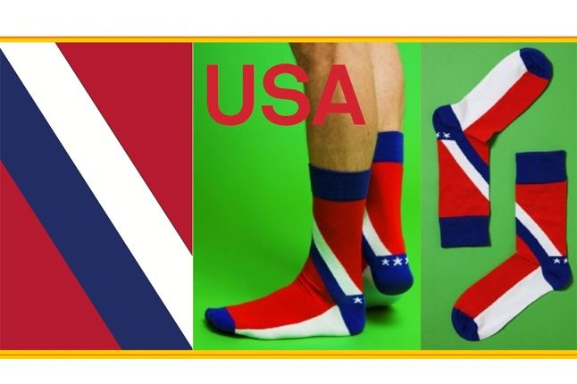 World Cup Socks Wong Wong Usa 1
