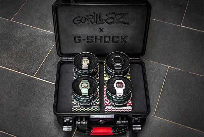 Casio Gorillaz Pack 9