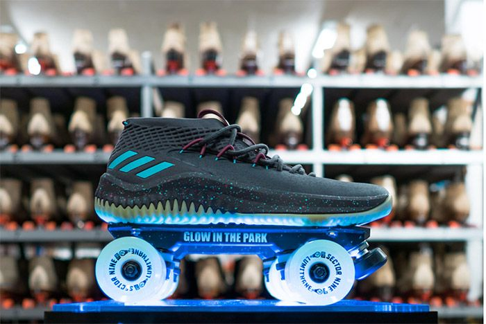 Adidas Dame 4 Glow In The Park 4